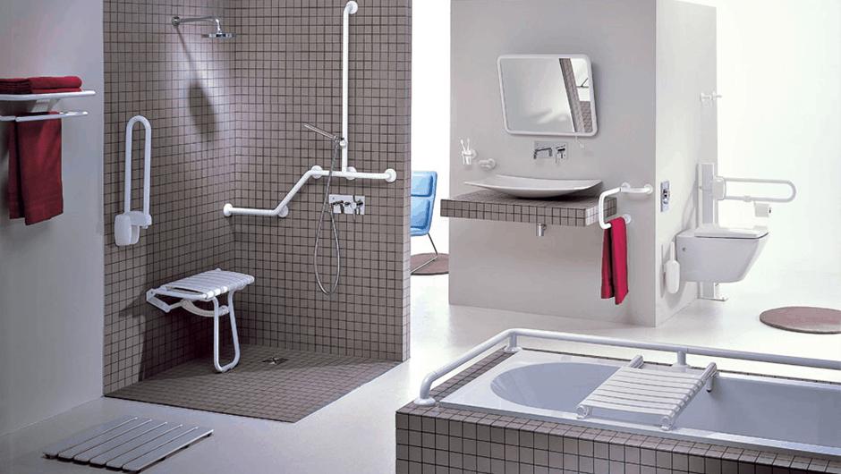 تجهيز حمامات لذوي الاحتياجات الخاصة وكبار السن